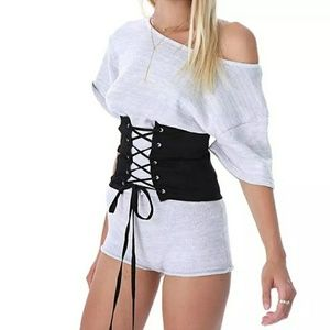 Accessories - Lace Up Corset